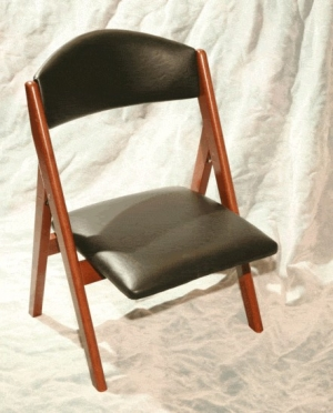 Shiva Chair  0975.6L842 Fruitwood Black (sold by 2)