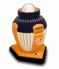 A SOLD OUT NEW YORK YANKES URN