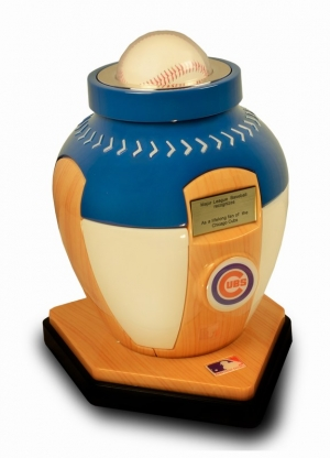 A SOLD OUT CHICAGO CUBS URN SOLD OUT