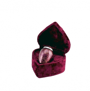 620/3in Alloy Urn Burgundy Plumb w/pouch
